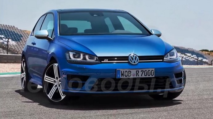 Обзор Volkswagen Golf 7 2014 года